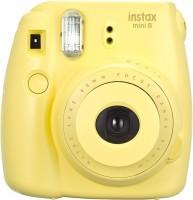 FUJIFILM instax Mini 8 Yellow ( with 10x2 film) Instant Camera(Yellow)