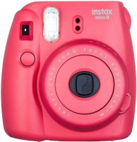 Fujifilm Instax Mini 8 Raspberry ( With 10x2 Film) Instant Camera(red)