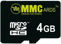 MMC C10 4 GB MicroSDHC Class 10 20 MB/s  Memory Card