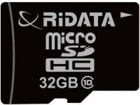 ridata RiData Class 10 32 GB MicroSDHC Class 10 87 MB/s Memory Card 32 GB Ultra SDHC Class 10 87  Memory Card