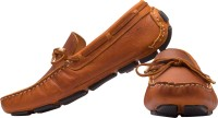 tZaro Tied Boat Shoes For Men(Tan)