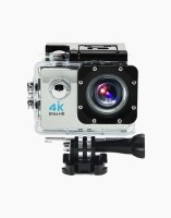 OWO G53R Silver 4K Ultra HD Waterproof Wifi Sports and Adventure Cameras Sports and Action Camera(Silver, 12 MP)