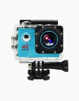 OWO G53R Blue 4K Ultra HD Waterproof Wifi Sports and Adventure Cameras Sports and Action Camera(Blue, 12 MP)