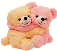 Dimpy Stuff Couple Bear  - 20 cm(Beige, Pink)
