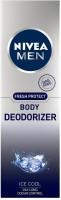 Nivea Fresh Protect Body Deodorizer Ice Cool, 120ml Deodorant Spray  -  For Men(120 ml)