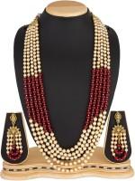 Luxor Alloy Jewel Set(Multicolor)