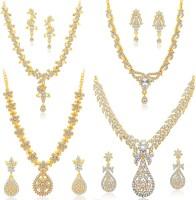 Sukkhi Alloy Jewel Set(Yellow)