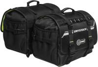 Rynox gears Drystack Saddlebags - Stormproof Waterproof Multipurpose Bag(Black, 60 L)