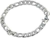 Men Style Stainless Steel Sterling Silver Bracelet