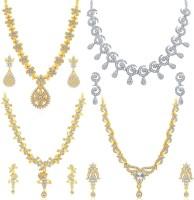 Sukkhi Alloy Jewel Set(Gold, Silver)