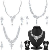 Sukkhi Alloy Jewel Set(Silver)