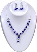 VIVAAN Stone Jewel Set(Blue)