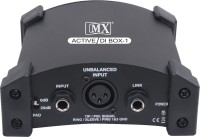 MX Professional 9 Volts Battery Phantom Powered Active DI Box Analog Sound Mixer