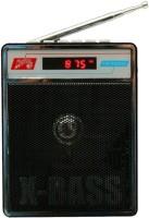 CRETO SL-413 Radio Fm Supports USB pen-drive, aux memory card FM Radio(Black)