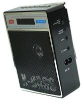 CRETO Original SL413 Fm Radio Supports USB pen-drive, aux memory card FM Radio(Black)