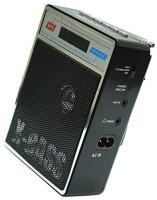 CRETO SL-413 New Portable Fm Radio Supports USB pen-drive, aux memory card FM Radio(Black)