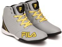 Fila ANDRY High Tops For Men(Yellow, Grey)