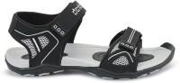 Density Men DEN 14 BLACK GREY Sports Sandals