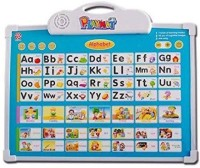 Alpyog Educational Musical Alphabet ABCD Learning Board Play Mat and Drawing Board with One Doodle Pen For Kids(Min. Age 3yrs)(Multicolor)