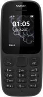 Nokia 105 Single Sim 2017(Black)