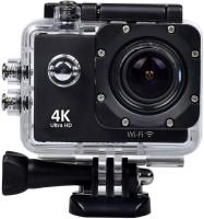 WaiiTech Action 4K Ultra 4K Ultra HD 12 MP WiFi Waterproof Digital Action & Sports Body only Sports & Action Camera (Black) Sports and Action Camera(Black, 12 MP)