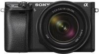 Sony Alpha 6300M Mirrorless Camera Body with 18 - 135 mm Zoom Lens(Black)