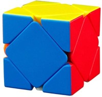 Smartcraft Skewb Rubiks Cube,Speed Professional Quality Magic Rubiks Cube 3D, Recommended for 3 - 99 Years(1 Pieces)