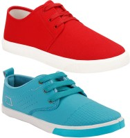 Super Matteress Combo(SR)-1077-1024 Sneakers For Men(Red)