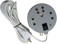 SHOPTICO Extension Cord Board with 3 Socket 3  Socket Extension Boards(White)