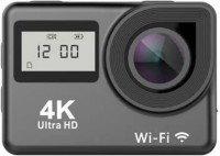 Adofys ACTION CAMERA TRIUMPH 4K dual touchscreen (Black 12 MP) Sports and Action Camera(Black, 12 MP)