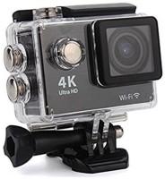 dirAr 4k Action Camera with Wifi 18 Sports Camera 18 Sports & Action Camera(Black)