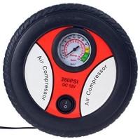 ELEGANTSHOPPING 260 psi Tyre Air Pump for Car & Bike