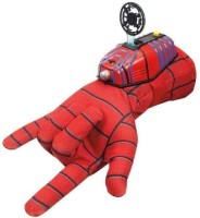 Turban Toys Ultimate Spiderman Gloves with Disc launcher for Kids(Red)