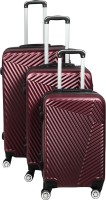 CONTINENTAL Cabin Suitcase, Suitcase, Check-in Suitcase Combo(Maroon)