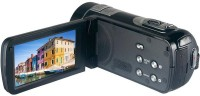 S-tech HC801 Anti-Shake 5.0 CMOS Sensor 1080p Full HD Video with 24MP Photo Resolution, 16 X Zoom and 3 inch Touch Screen Digital Video Camera Body with SAL Camcorder Camera(Black)