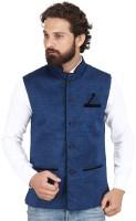 PSK Sleeveless Solid Men's Jacket