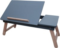 IBS TABLE MATE Bed Tray Foldable, Wooden Desk For Study / Reading / Eating MULTIPURPOSE KIDS Solid Wood Portable Laptop Table(Finish Color - GREY)