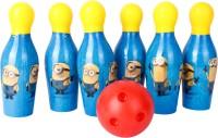 GENCLIQ Bowling Set 6 Pins Educational Toy For Kids Bowling