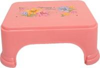 Kuber Industries Plastic rectangular Bathroom Patla/Stool-CTKTC1938 Stool(Red)