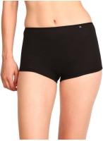 Jockey Women's Boy Short Black Panty(Pack of 1)