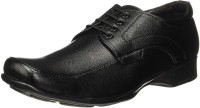 Bata Quin Two Men Synthetic Leather Lace Up Shoes For Men(Black)