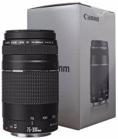 Canon EF 75-300 mm f/4-5.6 III Telephoto Zoom  Lens(Black, 75-300 mm)