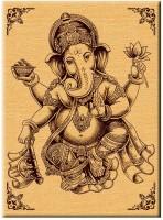 Engraveindia ENGRVISB008 12 inch Ganesha(128 MB, Wooden)