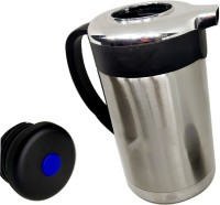 Blue Birds NEW ARRIVAL beautifuly designed Stainless Thermo Steel Air Tight Leak Resistant Double-Wall Vacuum Insulated Coffee,Tea, Beverage Coffee Pot, Jug Flask Multipurpose Special Gift Pack, Self Use; and Diwali, Dhanteras & Festive Gifts Pot 1.3 L with Lid(Stainless Steel, Non-stick, Induction