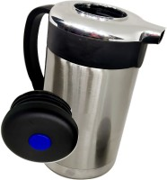Blue Birds BEST Collection Stainless Thermo Steel Air Tight Leak Resistant Double-Wall Vacuum Insulated Coffee,Tea, Beverage Coffee Pot, Jug Flask Capacity-1.3 L Multipurpose Special Gift Pack, Self Use; and Diwali, Dhanteras & Festive Gifts Pot 1.3 L with Lid(Stainless Steel, Non-stick, Induction B