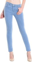 Desert Strom Skinny Women Light Blue Jeans