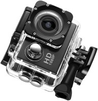 BIRATTY 1080p action camera 1080p Sports Action DV Camera Waterproof Recording Sports and Action Camera(Black, 12 MP)
