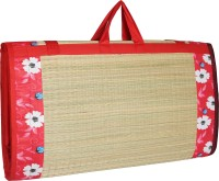 CRAFT OF INDIA Cotton Chatai Mat(Red, Free)