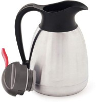 M S Megaslim beautifuly Penguin designed Stainless Thermo Steel Double-Wall Vacuum Insulated Thermo Jug Hot Water Bottle Coffee,Tea, Beverage Coffee Pot, Jug Flask 18/8 Capacity-1 L Multipurpose Special Gift Pack, Self Use; and Diwali, Dhanteras & Festive Gifts Pot 1 L with Lid(Stainless Steel, Non-