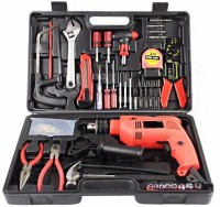 Wishpool 36 PCS 13mm Tool Kit Powerful Drill machine with Accessories Power & Hand Tool Kit(36 Tools)